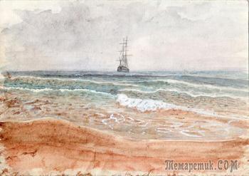 Мои неплохие рисунки моря исповедь опытного пенсионера