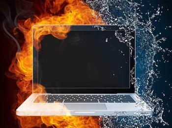 Почему ноутбук начал уметь — гудит вентилятор