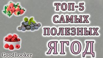 Топ-5 самых лучших и полезных ягод для похудения и здоровья
