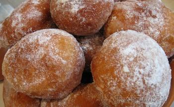 """Пончики """"Воздушные"""" на желтках"""