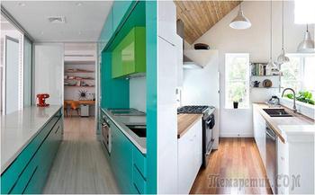 10 профессиональных советов по планировке узких кухонь