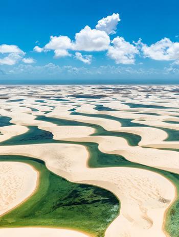 Национальный парк Ленсойс-Мараньенсис: одно из самых необычных мест в мире!