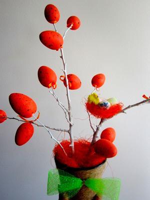 Украшения к Пасхе – своими руками: пасхальное деревце Пасхальные поделки из декоративных яиц: мастер-класс