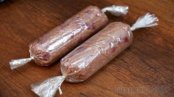 Один ингредиент, чтобы домашняя колбаса была сочной и держала форму без оболочки!