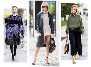 5 самых модных способов носить трикотаж этой осенью
