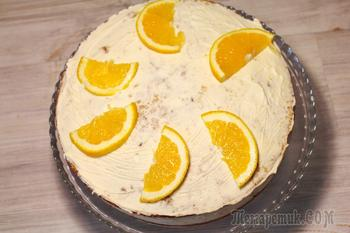 Морковный торт. Простой рецепт вкусного, очень ароматного морковного торта.