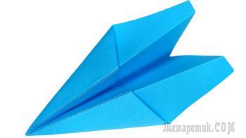 Как сделать самолетик из бумаги А4 оригами