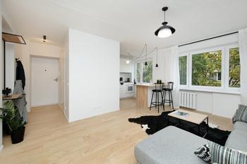 """До и после: как из """"бабушатника"""" сделали стильную квартиру-студию"""
