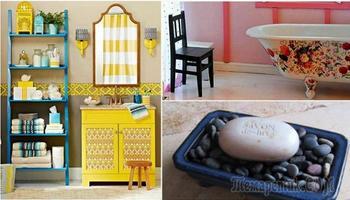 17 отменных идей, которые добавят шика в интерьер ванной комнаты