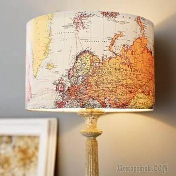 Самые красивые самодельные абажуры для ламп