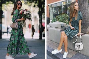 Модные летние платья с воланами 2020