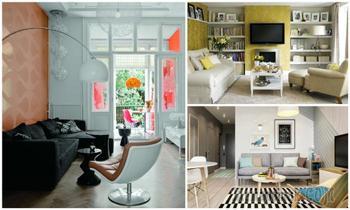 Уютные интерьеры маленькой гостиной, которые сделают её лучшим местом в доме