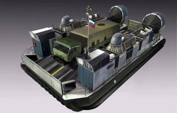 «Хаска 10», новое российское судно на воздушной подушке