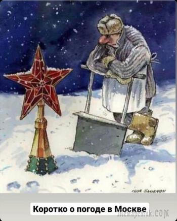 Одна история в 5 фотографиях. «Москва в снегу»