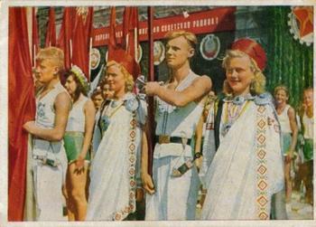 Уникальные цветные снимки Москвы 1945-47 гг.