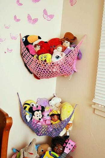 Идеи хранения детских игрушек