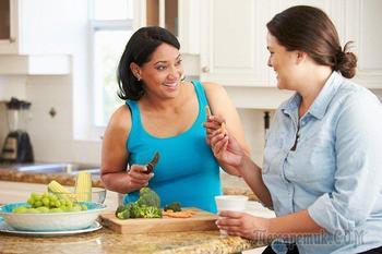 Диета для полных: похудение в домашних условиях