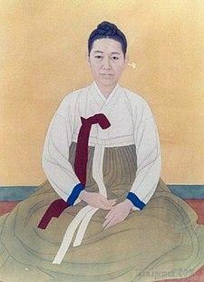 Корейская живопись. Син Саимдан - Shin Saimdang (신사임당, 申師任堂), 1504-1551