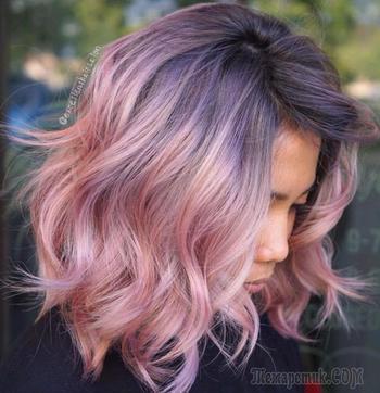 Окрашивание волос 2021: ультрамодные оттенки и инновационные технологии