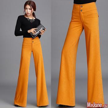 Как выбрать брюки-клеш и с чем их носить?
