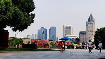 Китай 2018.16.Шанхай. Набережная /или Бунд, или Вайтан