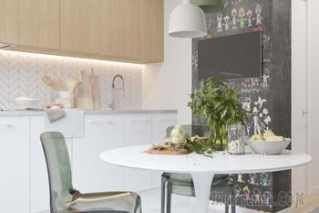 Дизайн интерьера в современном скандинавском стиле для семьи с двумя сыновьями