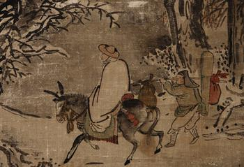 Корейская живопись. Сим Саджон - Sim Sa-jeong (심사정, 沈師正), 1707-1769
