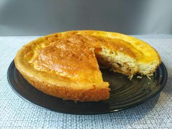 Пирог с квашеной капустой без всяких заморочек и возни!