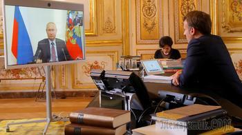 Карабах и теракт в Париже: что Путин обсудил с Макроном