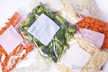 20 продуктов, которые нельзя замораживать
