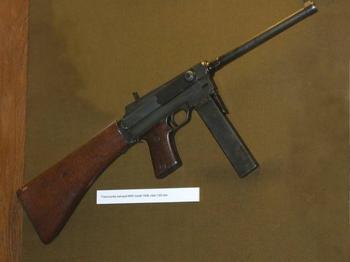 Пистолет-пулемет MAS-38 (Франция)