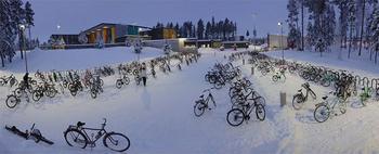Антифриз в крови: финские дети ездят в школу на велосипедах при температуре — 17C