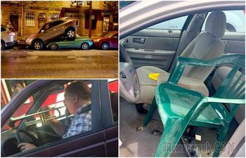 17 нелепых ситуаций и курьезов, которые происходят на дороге каждый день