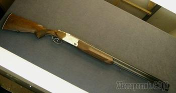 Охотничье ружье с вертикальным расположением стволов и усиленным узлом запирания ТОЗ-200