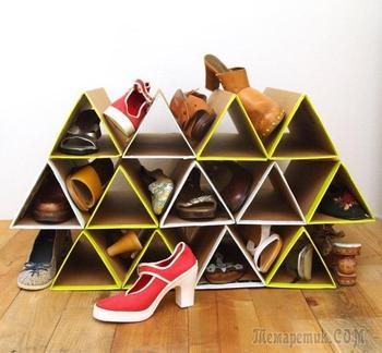 15 простых идей из картонной коробки, которые сделают дом комфортнее