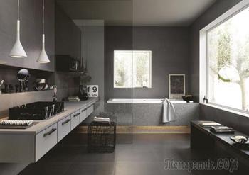 Дизайн ванной в сером цвете: особенности оформления