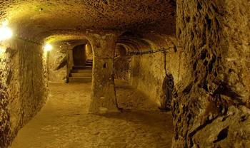12000-летние подземные туннели абсолютно реальны! Он простираются от Шотландии до Турции!