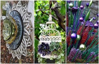 Идеи дачного декора, который легко можно сделать своими руками