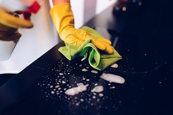 3 способа очистить индукционную панель от пятен