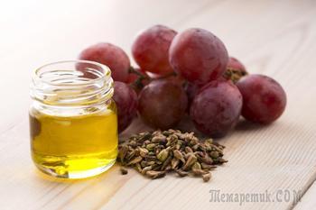 Масло виноградной косточки в косметологии — Применение и полезные свойства
