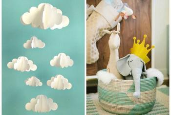 9 милых идей для комнаты новорожденного