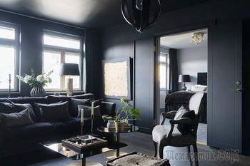 В черной-черной квартире..