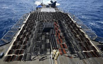 ВМС США сообщили о изъятии российского оружия с судна в Аравийском море