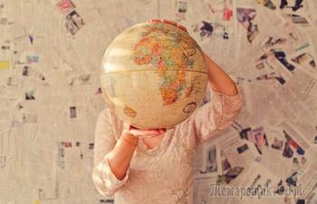 14 небанальных карт мира, которые не найти в учебниках по географии