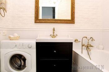 Ванная комната: аристократичная простота
