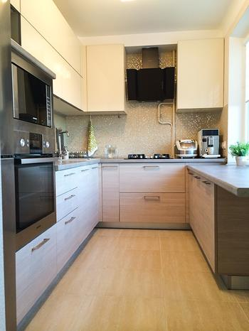 Наша кухня в бежевых тонах