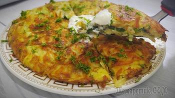 Вкуснятина  из картофеля , на ужин или на завтрак