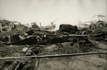 Как взрыв поезда едва не уничтожил целый город