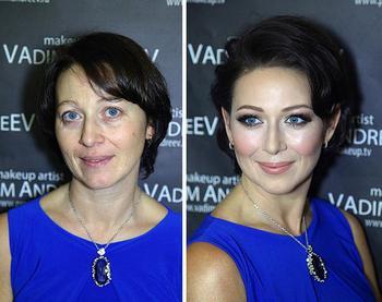 25 женщин до и после макияжа, которые попали в руки к профессионалам и теперь выглядят как звёзды Голливуда
