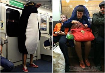 Снимки, доказывающие, что Недели моды нужно проводить в российском метро